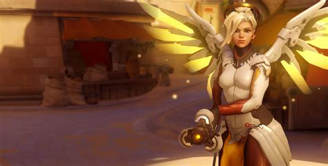 Overwatch Mercy Skins for FREE Angela Ziegler, Age: 34