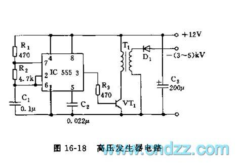 High Voltage Generator Circuit Signal Processing