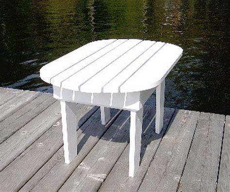 adirondack table plan