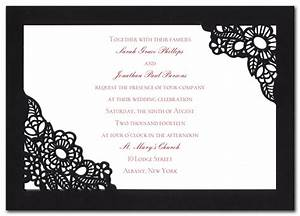 spanish lace wedding invitations by invitation With traditional spanish wedding invitations