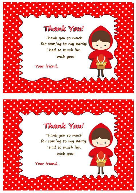 red riding hood   cards birthday printable