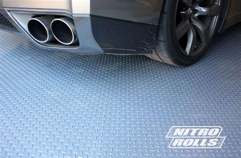 attractive rubber flooring for garage nitro rolls