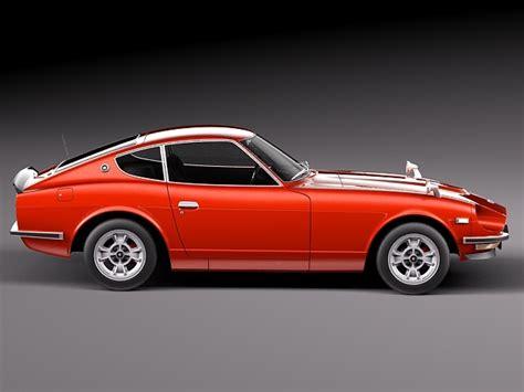 Datsun 240z Model by Datsun 240z 1969 1978 3d Model Max Obj 3ds Fbx C4d Lwo Lw