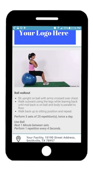 Home Exercise Software – Features | Exercise Pro Live