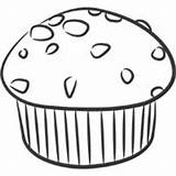 Muffin Coloring Scrumptious Pages Surfnetkids sketch template
