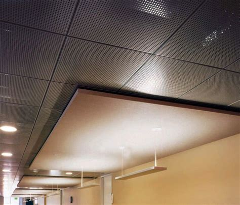 Suspended Wood Ceiling by Acoustic Suspended Ceiling Panel Wood Perforated