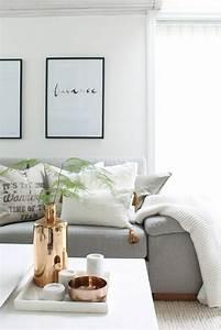 Deco Salon Moderne : d co cosy du s jour pour une ambiance chaleureuse ~ Teatrodelosmanantiales.com Idées de Décoration
