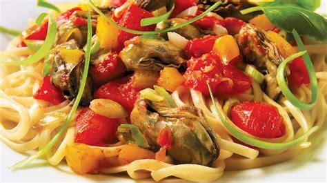p 226 tes aux hu 238 tres et aux tomates recettes iga linguine vin blanc recette rapide