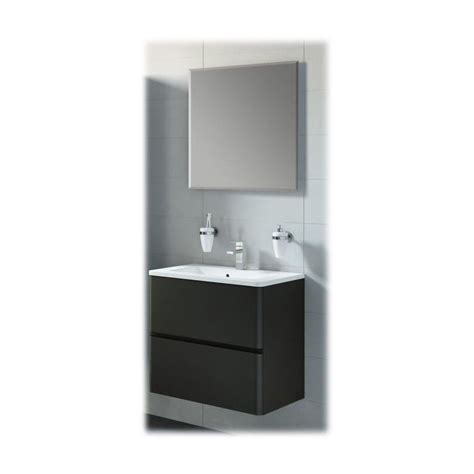 meuble salle de bain noir laque meuble de salle de bain aida noir laqu 233 porcelaine aida c 1 60 nl p