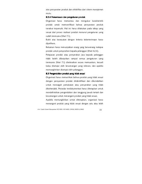 Integrasi SMK3 dan ISO dan OHSAS