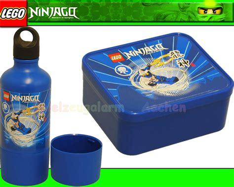 lego ninjago set brotdose trinkflasche blau drinking