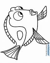 Dory Coloring Pages Finding Nemo Disney Printable Marlin Drawing Template Pixar Sheets Otter Hank Disneyclips Funstuff Templates Destiny Getdrawings Clipartmag sketch template