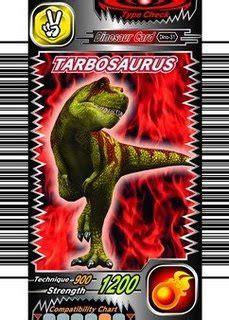 Cartas de algunos dinosaurios de dino rey. Dino Rey Cartas