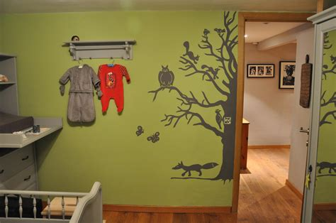 cuisine d été en arbre photo 2 7 une fresque le design a été