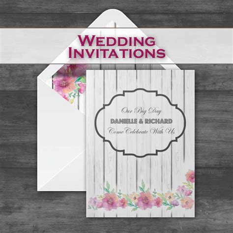 Wedding Invitaions Save The Date RSVP Table Plans