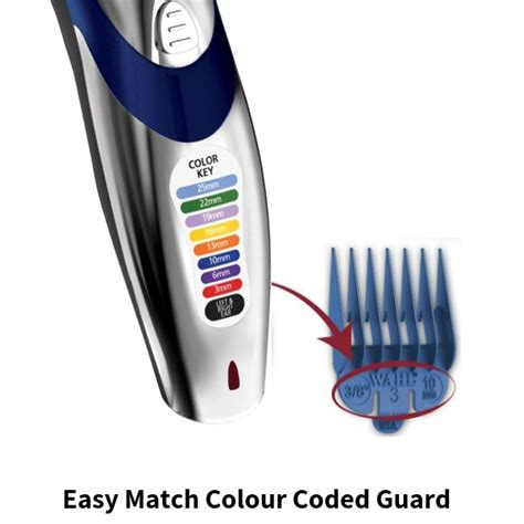 wahl cordless hair clipper trimmer shaver electric rechargeable