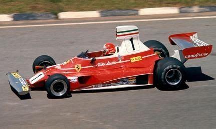 In 1975, niki lauda began his successful run in chassis 022 with a win at the 1975 brdc international trophy at silverstone. Niki Lauda's first win of 1976, the Brazilian GP. | Ferrari f1, Ferrari, Racing