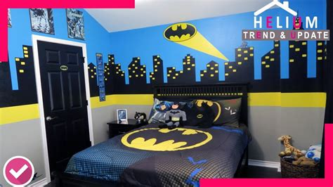 Wow !!! 40+ Batman Bedroom Ideas For Boys