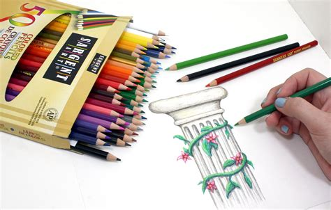 sargent art    count assorted colored pencils