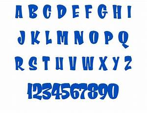 10 chunky applique font images embroidery applique With chunky letters
