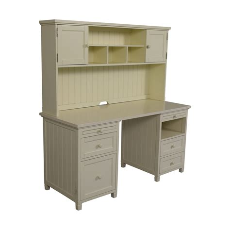 Pottery Barn White Desk With Hutch by 80 Pottery Barn Pottery Barn White Four Drawer