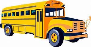 School Bus Side View Clipart - ClipartXtras