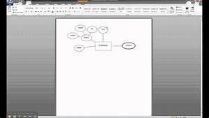 Er Diagram In Ms Word