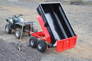 Garden Tractor Attachments Accessories by Quad X Shows New Innovations At Balmoral B3 Quad