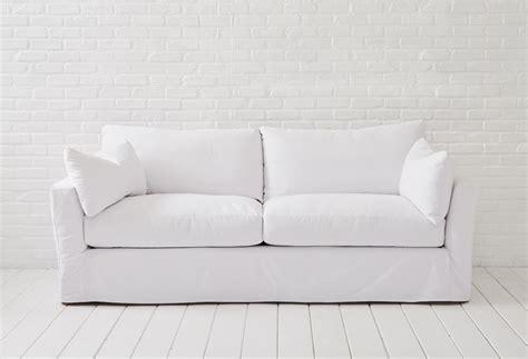 Shabby Chic Sofa by Shabby Chic Slipcovered Sofa Cottage Furniture Slipcovered