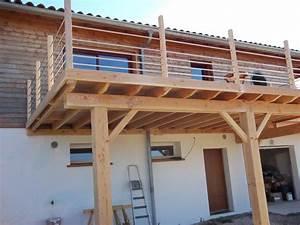 terrasse suspendue bois prix best ment construire une With prix terrasse bois suspendue