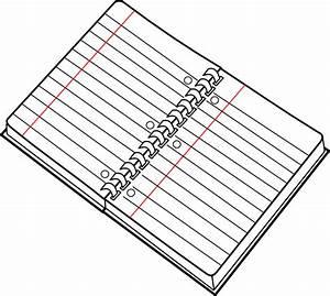 Spiral Notebook Clip Art at Clker.com - vector clip art ...