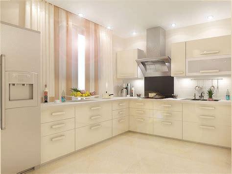 Дизайн кухни молочного цвета — Kuhni4ucom