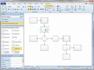 shift flowchart shapes automatically visio guy With free visio templates 2010