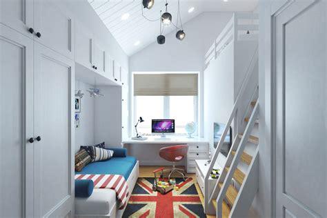 Interior Design Ideas For A S Room by Small Room Design With A Second Floor Sleeping