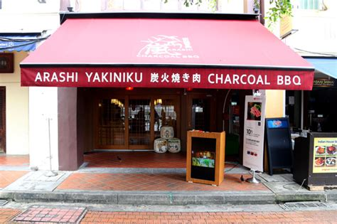 Boat Quay Grill by Arashi Yakiniku Charcoal Grill Restaurant Experience
