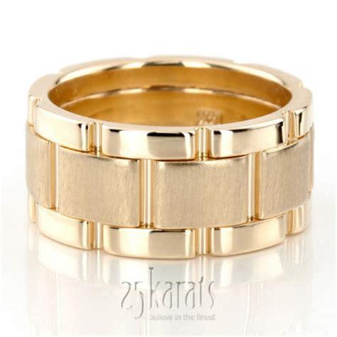 14k gold rolex style bestseller handmade wedding ring hm011