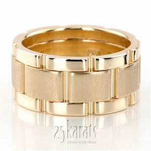14k gold rolex style bestseller handmade wedding ring hm011 With rolex wedding rings