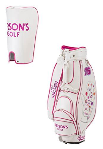 persons caddy bag pcb pcb7601 pcb7601 white pink size 8 inch 4939887724074 ebay