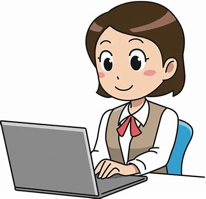 Working Woman Business Clip Onlinelabels Svg