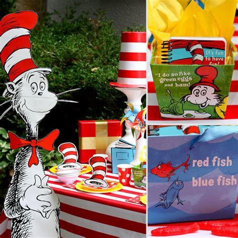dr seuss themed birthday party ideas popsugar moms