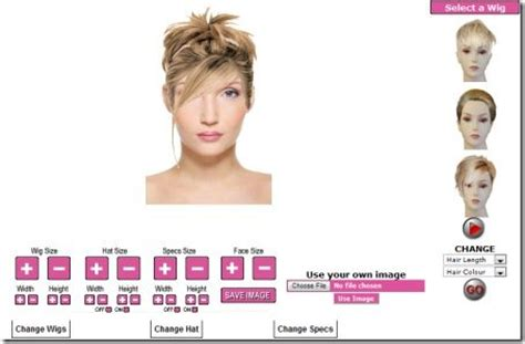 virtual hairstyle tester  food ideas