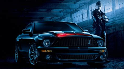 Cars Muscle Cars Ford Mustang Knight Rider Widescreen