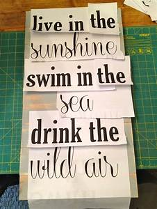 how to paint words on wood there is also a link to a diy With stencil letters for wood signs