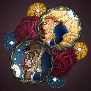 An incredible Belle and The Beast Mosaic - Walt Disney ...