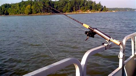 Fishing Rod Holders For A Pontoon Boat by Pontoon Boat Fishing Rod Holder No Drilling No Bolts