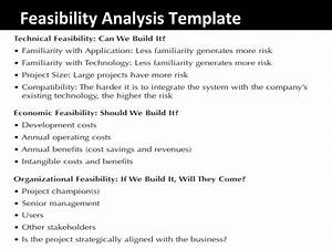 project technical feasibility analysis essay academic service With feasibility study template free download