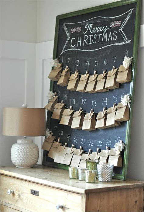 diy advent calendar ideas tutorials