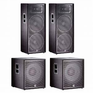 Jbl Sound System : jbl jrx dj pa audio speaker system 2 jrx225 speakers ~ Kayakingforconservation.com Haus und Dekorationen