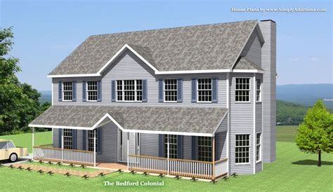 colonial house plans bedford modular colonial house
