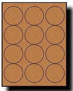 240 brown kraft labels 25 diameter round 20 sheets use With avery 5293 template